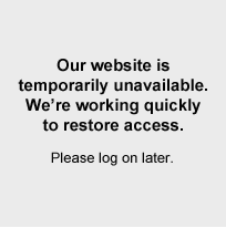 Chase-Sucks org » Chase online down again – UNSCHEDULED!